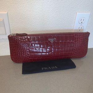 58ba86b6f9e2 Prada Bags   Authentic Alligator Crocodile Envelope Bag   Poshmark